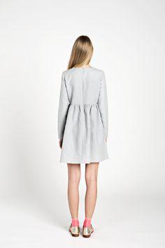 Organic linen dress / Simple women dress / Mini by HouseofNaive