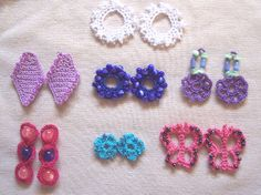 Crochet Pattern Central - Free Pattern - Dare to Be Different Earrings