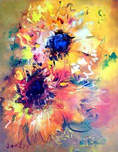flowers painting - Google Search