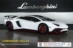 Cool Lamborghini 2017: 2016 Lamborghini Aventador  NAV+RR CAM+CARBON FIBER+BRANDING+DIANTHUS WHLS+CARBON BRAKES+BIB SV LOGO Check more at http://24go.gq/2017/lamborghini-2017-2016-lamborghini-aventador-navrr-camcarbon-fiberbrandingdianthus-whlscarbon-brakesbib-sv-logo/