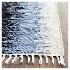 Coletta Flatweave Area Rug - Gray / Black (9' X 12') - Safavieh #AreaRugs