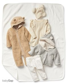 The sweetest take on sweater weather: the coziest babyGap collection, full of soft separates and one-pieces that are made for snuggling.  Look no further for the ideal baby shower gift for your little loved one.