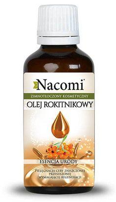 Nacomi olej z rokitnika - nierafinowany 30 ml Diy And Crafts, Shampoo, Hair Beauty, Health, Health Care, Salud, Cute Hair