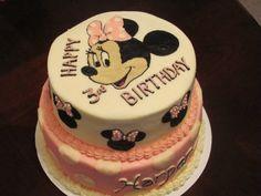2 Tier Minnie Mouse Yummy-ness