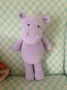 This little Hippo is a free pattern on the Heart & Sew blog.