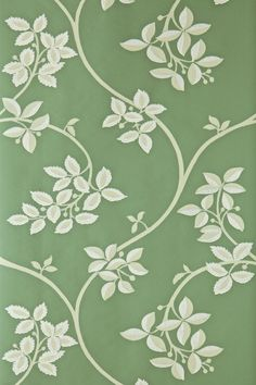 Farrow and Ball wallpaper - I want to use the pattern as inspiration for my hand-painted bathroom wall