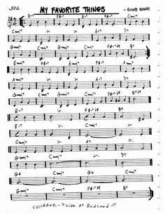 autumn leaves jazz standard pdf