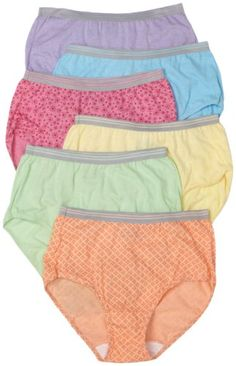 866631892 Fruit of the Loom Womens 6Pack Heather Brief PantiesAssorted8  gt  gt  gt   Check