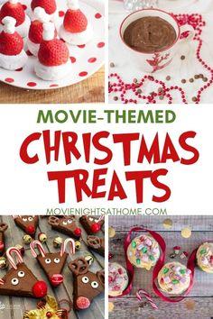 21+ Christmas Movie Night Snacks Paired with Movies