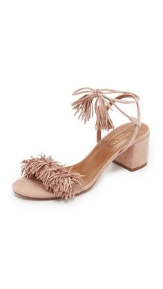 Aquazzura Wild Thing City Sandals- expensive but so FABULOUS!