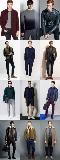 Colours That Match or Complement Fair/Pale Skin Men - Outfit Inspiration Lookbook
