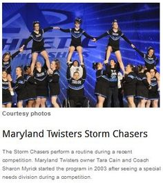 Maryland Gym Showcases Special-Needs Teams  -   - Pinned by @PediaStaff – Please Visit ht.ly/63sNtfor all our pediatric therapy pins