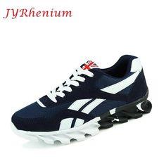 JYRhenium New Sneakers for Men Running Shoes Outdoor Walking Sneakers  Comfortable Athletic Shoes Men For Sport 00b552fd9