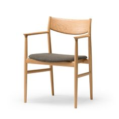KAMUY DINING Armchair・Armchair H (upholstered seat) | CONDE HOUSE