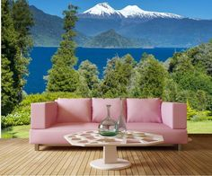 30.00$  Watch here - http://ali13z.shopchina.info/go.php?t=32755041220 - Custom murals,Chile Scenery Parks Mountains Rivers Nature wallpaper,hotel living room sofa tv wall bedroom 3d wall mural  #SHOPPING