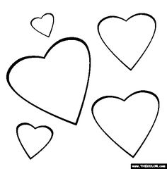 Heart Coloring Pages For Toddlers Tone