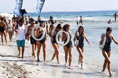 Sur la plage des Salines, la parade de Cocoon © YONDER.fr