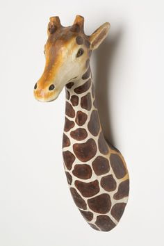 Anthropologie  Lanky Giraffe Bust