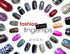 If you love that easy apply nail art.. Avon has it too check it out in a brochure or check out www.youravon.com/sbaker