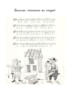 Lied: Bouwen, timmeren en zingen
