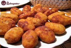 Croquetas de Bacalao - Tvcocina . Videos . Recetas de Cocina Gourmet . Recetas de Pollo