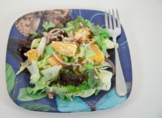 Orange & Peanut Salad: something refreshingly different!  Perfect for an Easter picnic.