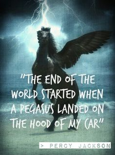The end of the world started. - Way back in Percy Jackson and The Last Olympian Percy Jackson Quotes, Percy Jackson Books, Percy Jackson Fandom, The Last Olympian, Teen Wolf, Roman, Trials Of Apollo, Percabeth, Solangelo