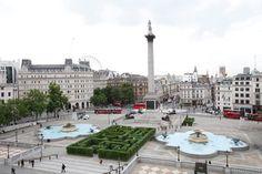 Trafalgar Square Top 45 Tourist Attractions in London, City Of London, London City Guide, Trafalgar Square, Westminster, London Attractions, London Design Festival, Voyage Europe, Honeymoon Destinations, London Travel