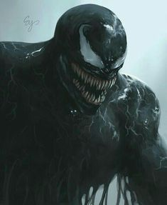 """You are watching the movie Venom on When Eddie Brock acquires the powers of a symbiote, he will have to release his alter-ego """"Venom"""" to save his life. Marvel Comics, Marvel Venom, Marvel Villains, Marvel Art, Marvel Characters, Marvel Heroes, Marvel Avengers, Venom Spiderman, Venom Pictures"""