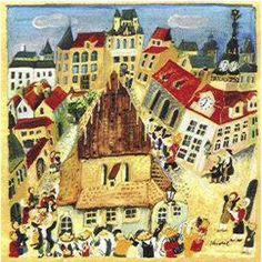 Simchat Torah in Prague
