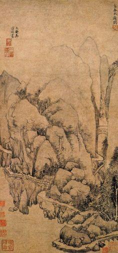 Huang Gong-Wang ( 黃公望 ), 1269-1354