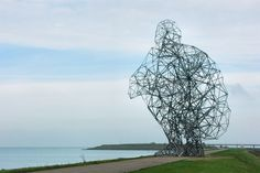 Anthony gormley, exposure, sculpture