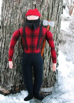 can't get enough of these cute bearded dolls! love the lumberjack!