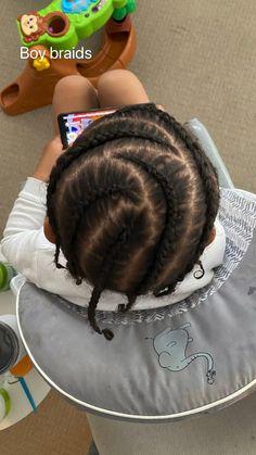Latest Braided Hairstyles, Boy Braids Hairstyles, Little Boy Hairstyles, Cute Hairstyles, Summer Hairstyles, Hairstyle Ideas, Little Boy Braids, Braids For Boys, Small Braids