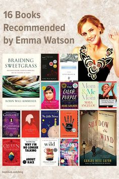 Some of Emma Watson's favorite books range from sweeping historical fiction to timeless classics to feminist nonfiction — with ideas for nearly every reader! #books #EmmaWatson #booklist
