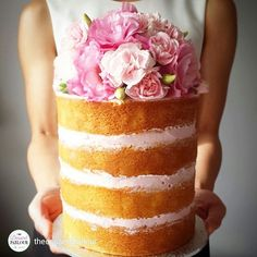 repost via @thedessertparlour Naked cakes...they are heavier than they look! I get a good workout ... #whoneedsthegym #nakedcakes #cake #flowers #foodstyling #cakeart #cakedecorating #naked #wedding #events #chocolate #workout #Melbourne #richmond #bridalinspo