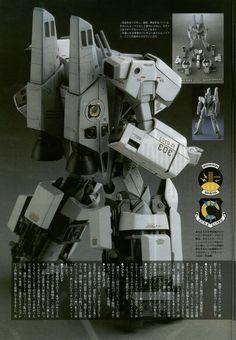 """Model Graphix VF-1S """"Thunder Hummer"""" Back #macross"""