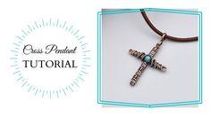 Wire CROSS - TUTORIAL/ Mini Cross Pendant/ DIY Jewelry Wire Jewelry, Jewlery, Wire Crosses, Wire Tutorials, Wire Weaving, Weaving Techniques, Wire Work, Cross Pendant, Etsy Shop