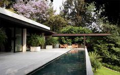 Carlos Herrera, The house is south of Mexico City. Mid-century ...