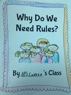 The Adventures of a K/1 Teacher: Rules & Laws