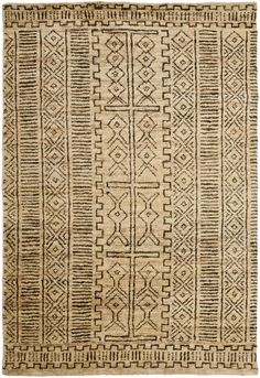 Tribal pattern inspired by African safaris and authentic kuba cloth. Adds texture and history to modern interiors; a fresh look for traditional and transitional homes. Layer with companion pattern Rhodes to create an air of exotic travel....
