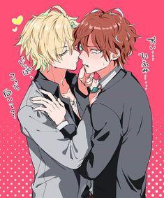 Fanart, Old Married Couple, Hot Anime Guys, Anime Boys, Boy Illustration, Illustrations, Rap Battle, Shounen Ai, Manga Pictures