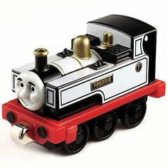 Thomas & Friends Take-n-Play Fearless Freddie Die Cast by Mattel. $11.74. Never played with. Original packaging not present. Like new. Thomas Tank Engine friend, die-cast, Take-Along series. White and black train.