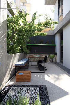 WoARCHITECTS | WORK | A&A HOUSE #woarchitects #house #bbq #cement #cementiles #raw www.woarchitects.gr