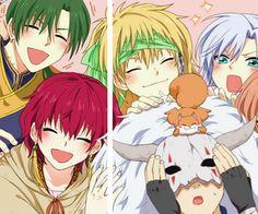 Akatsuki no yona the happy hungry bunch