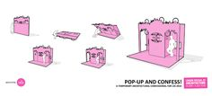 'Pop Up and Confess!', Installation for London Festival of... - carmamasson.com