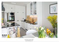 Modern BOHO. - Kuchnia, styl skandynawski - zdjęcie od SHOKO.design white kitchen | home inspiration | design |