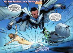 blue marvel adam brashear black power pinterest marvel