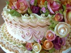 CAKE DECORATING LEARN ROYAL ICING WEDDING CAKES COVERING PIPING TECHNIQUES: DAVID MACCARFRAE UK USA