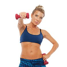 Get started: For toned, sculpted arms, try this workout from celebrity trainer Tracy Anderson. Get your arms in great shape for summer with these powerful arm exercises.